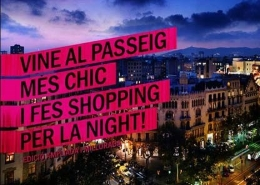 Ночь шопинга The Shopping Night Barcelona 2015